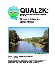 Documentation and Users Manual