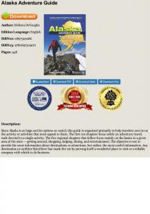 Download Alaska Adventure Guide - Melissa ...