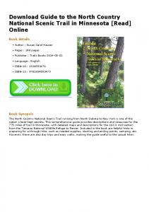 Download Guide to the North Country National Scenic ...