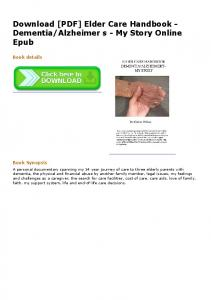 Download [PDF] Elder Care Handbook ... - MOBILPASAR.COM