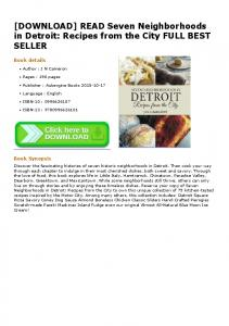[DOWNLOAD] READ Seven Neighborhoods in Detroit ...