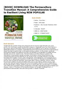 DOWNLOAD The Permaculture Transition Manual