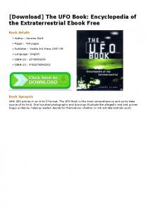 [Download] The UFO Book: Encyclopedia of the Extraterrestrial ...