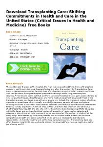 Download Transplanting Care: Shifting Commitments in ...