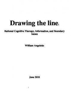 Drawing the line - PhilArchive