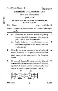 Earthquake Resistant Structures.pdf