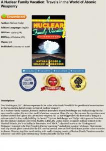 EBOOK A Nuclear Family Vacation: Travels in the ...