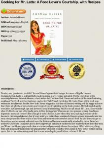 EBOOK Cooking for Mr. Latte: A Food Lover's ...
