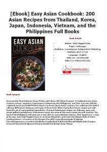 [Ebook] Easy Asian Cookbook: 200 Asian Recipes from ...
