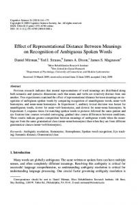 Effect of Representational Distance Between ... - Wiley Online Library