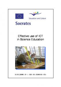 Effective Use of ICT in Science Education - Socrates.pdf  ...