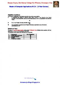 ELIGIBILITY CONDTIONS AND SCHEME OF TEST FOR M.C.A..pdf ...
