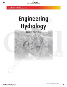 Engineering Hydrology by K Subramanya - BY Easyengineering.net ...