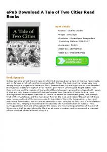 ePub Download A Tale of Two Cities Read Books