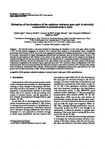 Estimation of the abundance of the cadmium ... -