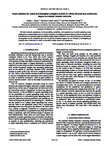 Exact solutions for social and biological contagion models on mixed ...