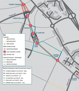 Felixstowe Branch Line - Rights of way proposals ... - Network Rail