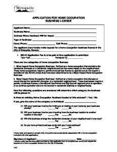 Form - Planning - Home Occupation Application.pdf.pdf