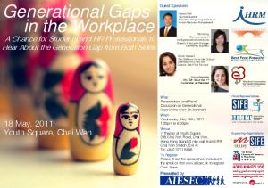 Generational Gaps in the Workplace -