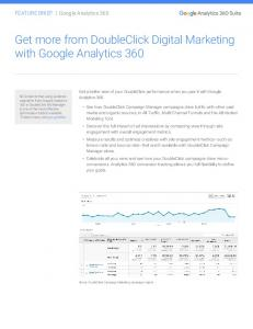 Get more from DoubleClick Digital Marketing with ...  Services