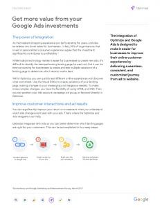 Get more value from your Google Ads investments  services
