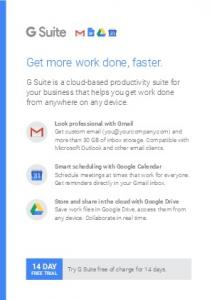Get more work done, faster. - G Suite