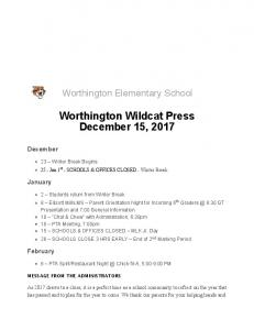 Gmail - WoES Wildcat Press 12-15-17