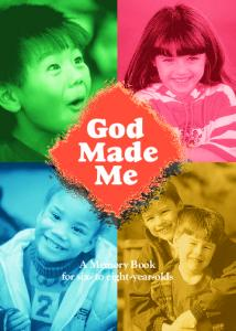 God Made Me Memory Book