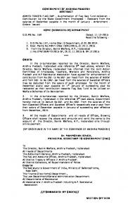 GOVERNMENT OF ANDHRA PRADESH ABSTRACT ... - ap teacher.net