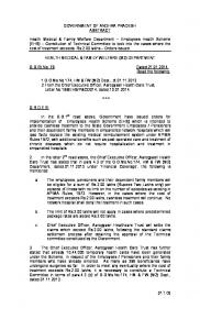 GOVERNMENT OF ANDHRA PRADESH ABSTRACT Health Medical ...