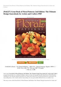 great-book-of-floral-patterns-2nd-edition-the-ultimate-design ...