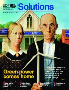 Green power comes home - Environmental Defense Fund