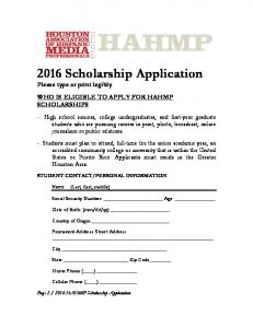 HAHMP SCHOLARSHIP APPLICATION 2016.pdf