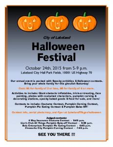 Halloween Festival - Lakeland, TN