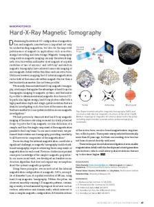 Hard-X-Ray Magnetic Tomography