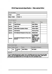 HELM Web-based Editor Requirements Specification V1_0.pdf ...
