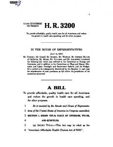 HR 3200 - US Government Publishing Office