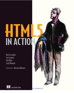 HTML5 in Action - GitHub