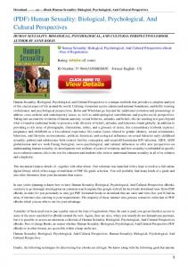 Human-Sexuality-Biological-Psychological-And-Cultural ...