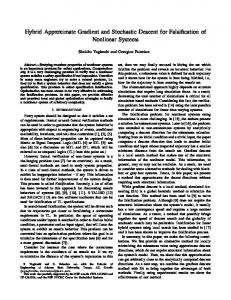 Hybrid Approximate Gradient and Stochastic Descent for Falsification ...