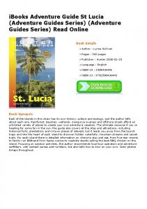 iBooks Adventure Guide St Lucia