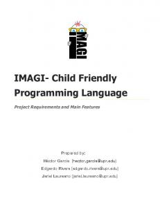 IMAGI- Child Friendly Programming Language - GitHub