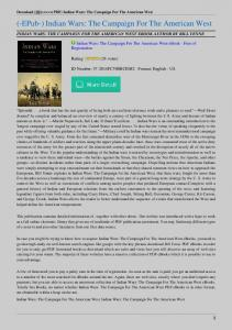 Indian-Wars-The-Campaign-For-The-American-West.pdf  ...
