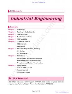 Industrial Engineering by S K Mondal T&Q 12.pdf