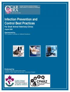 Infection Prevention and Control Best Practices_For Small Animal ...