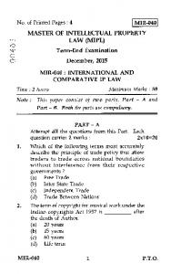 International And Comparative Ip Law.PDF