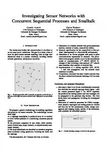 Investigating Sensor Networks with Concurrent ... - IEEE Xplore