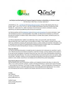 Jax ReCycle Sept 7 Bike Build Press Release.pdf