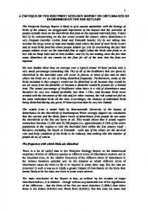 JGC critique of the Footprint Ecology report- December 2012 .pdf ...