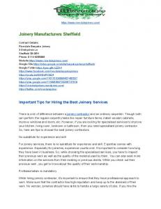 Joinery Manufacturers Sheffield.pdf